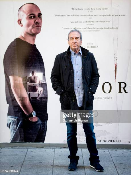 Jose Luis Perales attends the presentation of the 'El autor' at Golem cinema on November 14 2017 in Madrid Spain