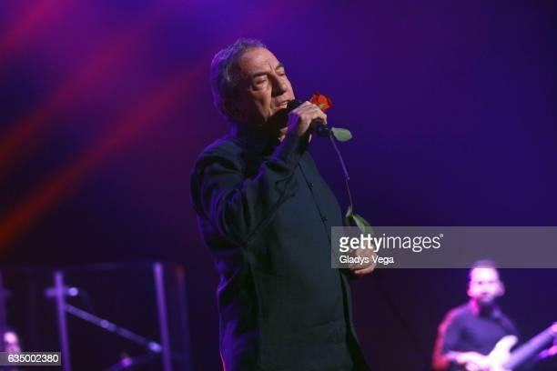 Jose Luis Perales performs as part of his tour Calma at Centro de Bellas Artes on February 12 2017 in San Juan Puerto Rico