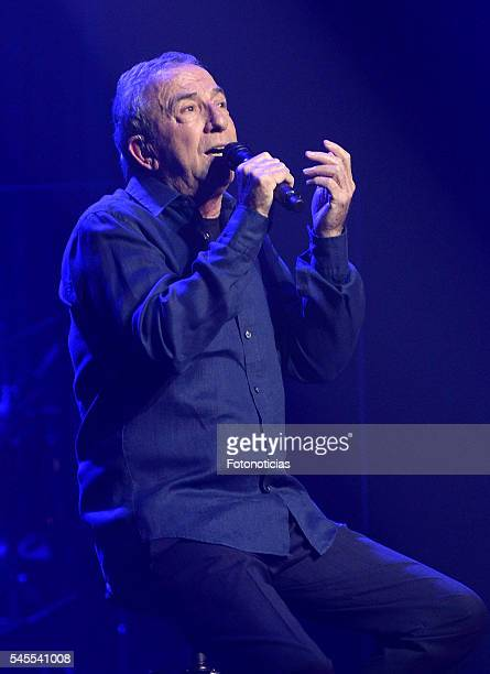 Jose Luis Perales performs at The Universal Music Festival at the Teatro Real on July 8 2016 in Madrid Spain