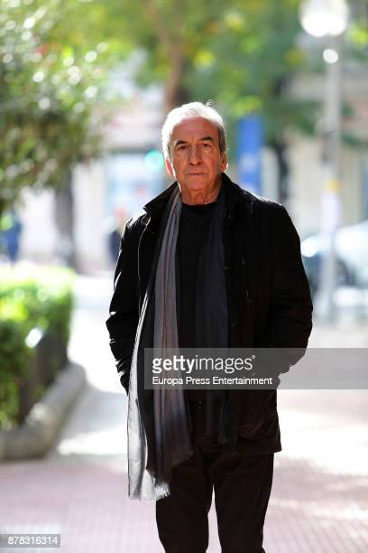 Jose Luis Perales poses for a photo session on November 23 2017 in Madrid Spain