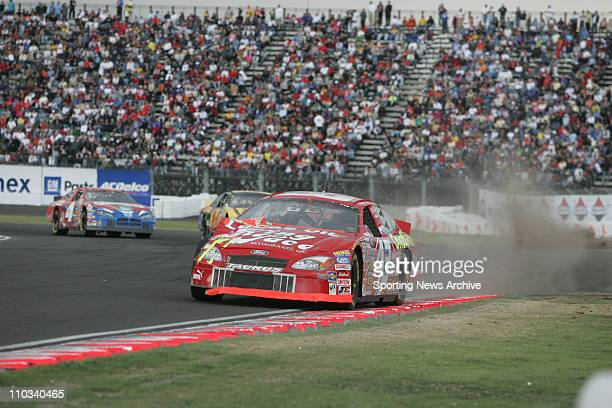 Jose Luis Ramirez during the Telcel Motorola Mexico 200 Busch Series race at the Autodromo Hermanos Rodriguez race track in Mexico City, Mexico on...