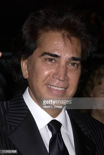 Jose Luis Rodriguez El Puma during 2002 Ritmo Latino Music Awards El Premio de la Gente at Kodak Theatre in Hollywood California United States