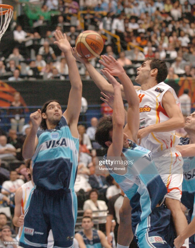 2006 FIBA World Championships - Semifinals - Spain vs Argentina - September 1,