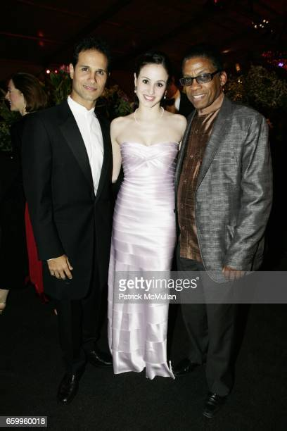 Jose Manuel Carreno Melanie Hamrick and Herbie Hancock attend AMERICAN BALLET THEATRE Annual Spring Gala Dinner at The Metropolitan Opera House on...
