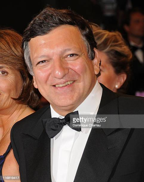 Jose Manuel Durao Barroso President of the European Commission attends the Gomorroa premiere at the Palais des Festivals during the 61st Cannes...