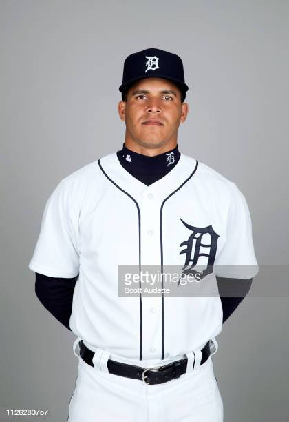 Jose Manuel Fernandez of the Detroit Tigers poses during Photo Day on Tuesday February 19 2019 at Publix Field at Joker Marchant Stadium in Lakeland...
