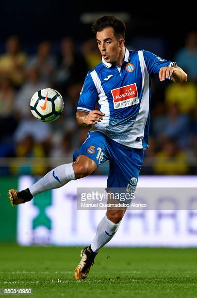 Jose Manuel Jurado of Espanyol in action during the La Liga match between Villarreal and Espanyol at Estadio De La Ceramica on September 21 2017 in...