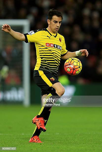 Jose Manuel Jurado of Watford during the Premier League match between Watford and Norwich City at Vicarage Road stadium on December 5 2015 in Watford...