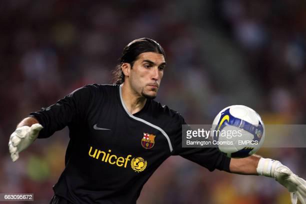 Jose Manuel Pinto Barcelona goalkeeper
