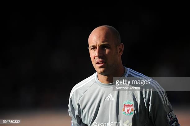 Jose Manuel Reina of Liverpool