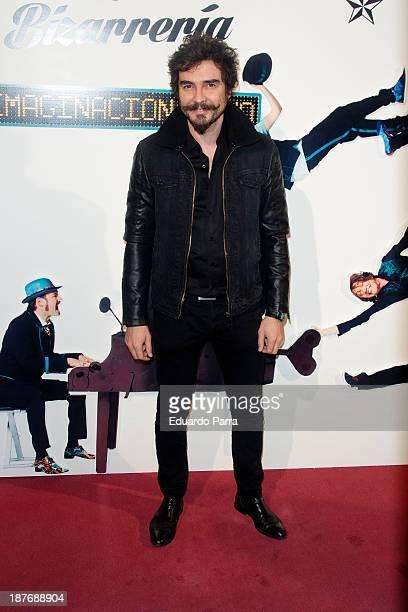 Jose Manuel Seda attends Alex O'Dogherty new album presentation party photocall at La Latina theatre on November 11 2013 in Madrid Spain