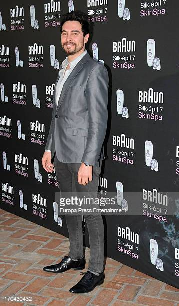 Jose Manuel Seda attends Braun Silkepil Skinspa party at Casa de America on June 12 2013 in Madrid Spain