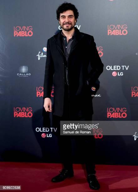 Jose Manuel Seda attends 'Loving Pablo' Madrid Premiere on March 7 2018 in Madrid Spain