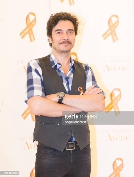 Jose Manuel Seda attends Skin Cancer Prevention European Day campaign by Avene on June 13 2017 in Madrid Spain