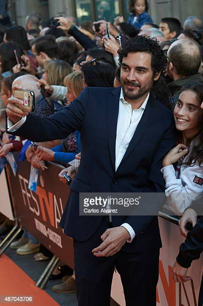 Jose Manuel Seda attends the 7th FesTVal Television Festival 2015 the closing ceremony at the Principal Theater on September 5 2015 in VitoriaGasteiz...