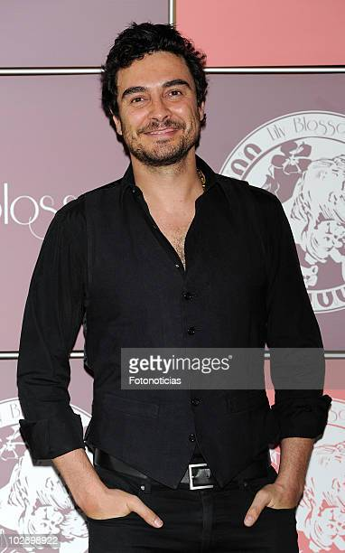 Jose Manuel Seda attends the opening of 'Lily Blossom' lingerie boutique on July 14 2010 in Madrid Spain