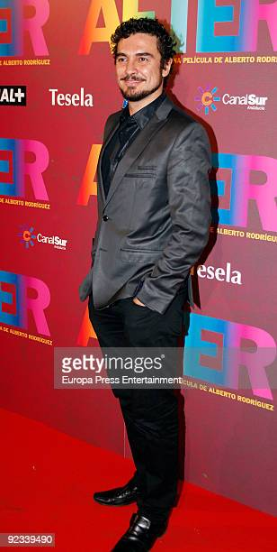 Jose Manuel Seda attends the premiere of 'After' on October 23 2009 in Madrid Spain