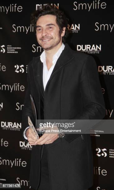 Jose Manuel Seda attends the Smylife Collection Beauty Art III presentation at the ThyssenBornemisza Museum on November 20 2017 in Madrid Spain