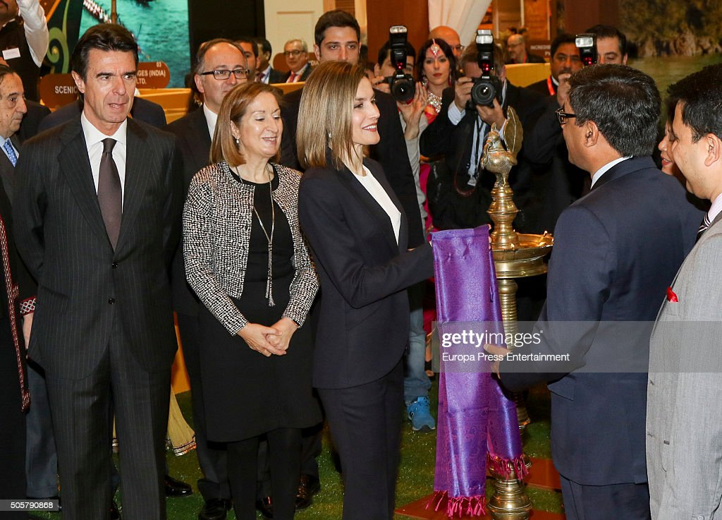 Queen Letizia Of Spain Visits FITUR Tourism Fair : News Photo
