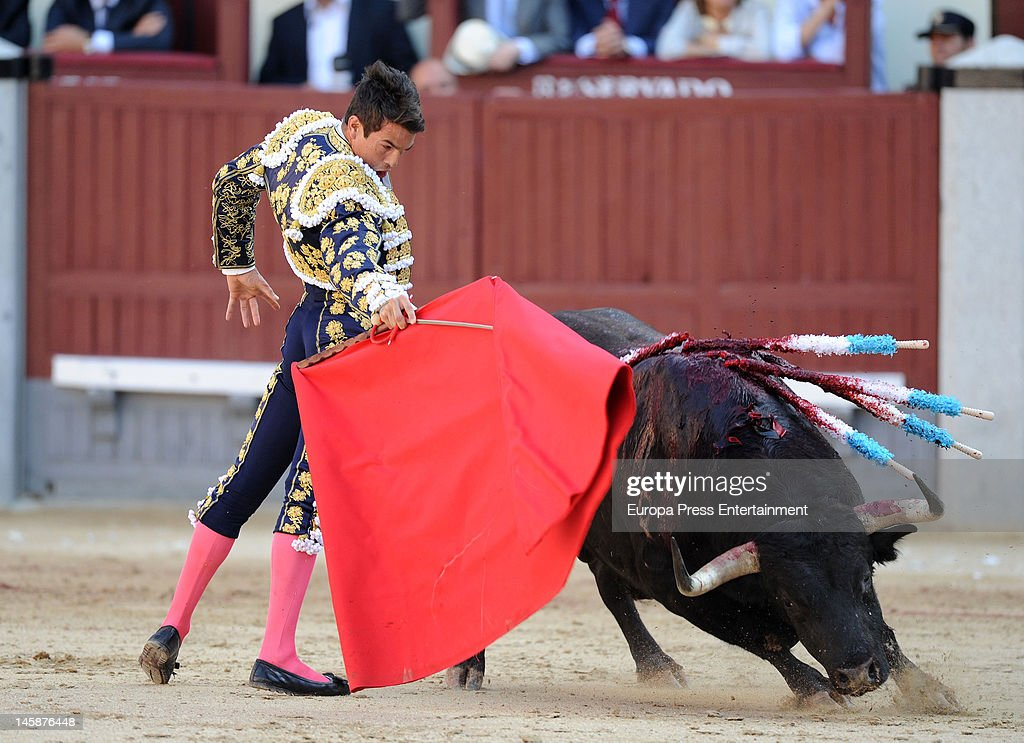 Princess Elena Attends Beneficiencia Bullfight In Madrid - June 06, 2012