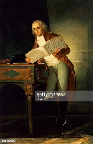Jose Maria Alvarez de Toledo Marques of Villafranca de Bierzo Grandee of Spain Portrait by Francisco Goya 1795 Prado Museum Madrid Spain