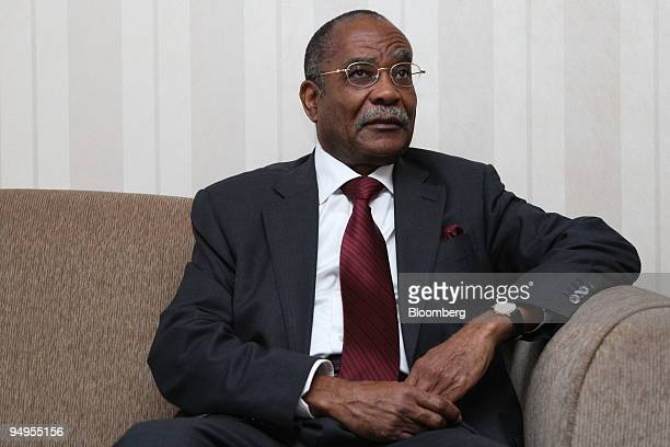 Jose Maria Botelho de Vasconcelos Angola's oil minister and OPEC president pauses in his hotel room prior to the 154th Organization of Petroleum...