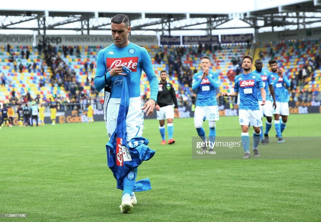 Frosinone v Napoli - Serie A : News Photo