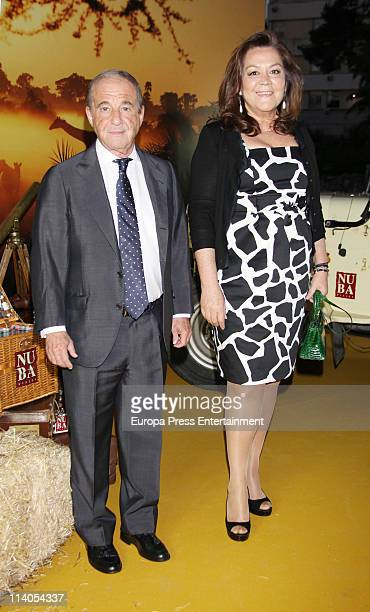 Jose Maria Garcia and Montse Fraile attend the launch of 'Nuba New Travel Collection 20112012' on May 10 2011 in Madrid Spain
