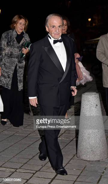 Jose Maria Garcia attends Luis Garcia Fraile's 40 birthday at Royal Theatre on November 24 2018 in Madrid Spain