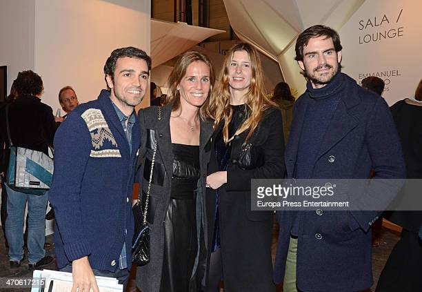 Jose Maria Garcia Fraile and Barbara Perez Manzarbeitia attend Audermars Piguet Award at ARCO Madrid at Ifema on February 19 2014 in Madrid Spain