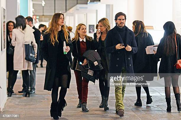 Jose Maria Garcia Fraile is seen at ARCO Contemporary Art Fair at Ifema on February 19 2014 in Madrid Spain