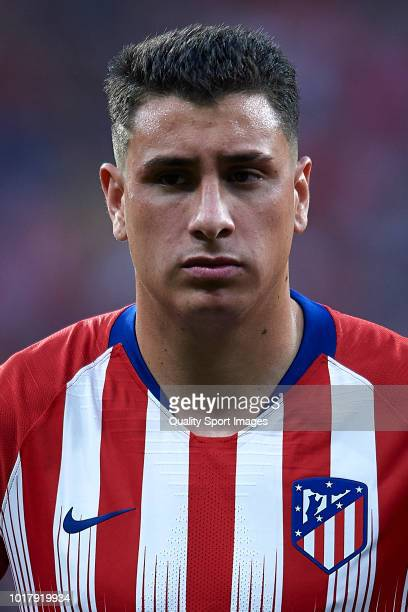Jose Maria Gimenez of Atletico de Madrid looks on prior to the International Champions Cup match between Atletico de Madrid and FC Internazionale at...