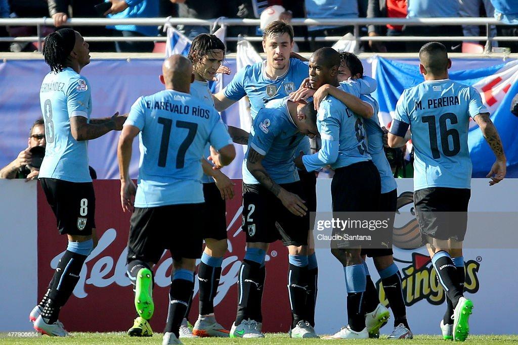 Uruguay v Paraguay: Group B - 2015 Copa America Chile
