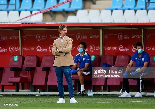 "Jose Maria Guiterrez ""Guti"" of UD Almeria looks on during the La Liga Smartbank match between UD Almeria and UD Las Palmas at Estadio Municipal de..."