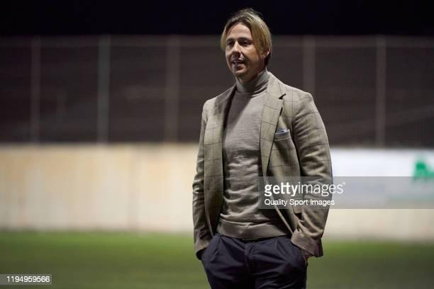 Jose Maria Gutierrez 'Guti', head coach of Almeria during the match between UD Tamaraceite and Almeria at Estadio Juan Guedes on December 19, 2019 in...