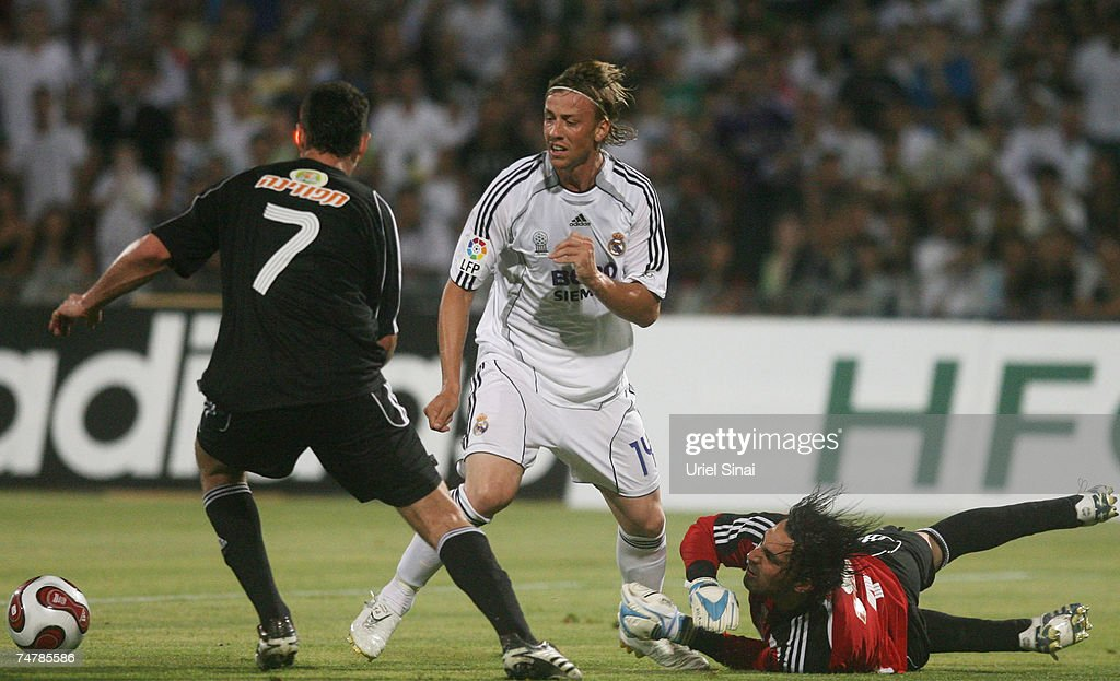 Real Madrid v Palestinian & Israeli XI : News Photo