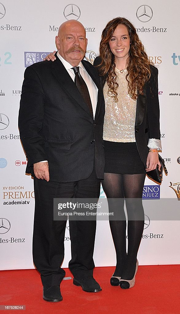 Jose Maria Inigo attends Iris Awards 2013 on April 25, 2013 in Madrid, Spain.