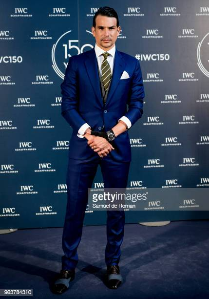 Jose Maria Manzanares attends 'IWC Fuera de Serie' 150 Anniversary Party on May 30 2018 in Madrid Spain