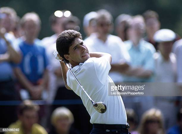 Jose Maria Olazabal of Spain in action during the Volvo PGA Championship at Wentworth Golf Club circa May 1992