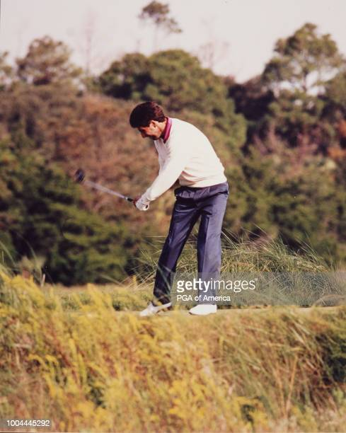 Jose Maria on the course at the 1991 Ryder Cup