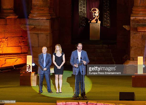 Jose Maria Pou attends the 2013 Ceres Award during the International Classic Theatre Festival on August 30 2013 in Merida Spain