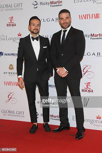 Jose Maria Torre and Alejandro Nones attend the Global Gift Gala Mexico City at Torre Virrelles on November 12 2016 in Mexico City Mexico