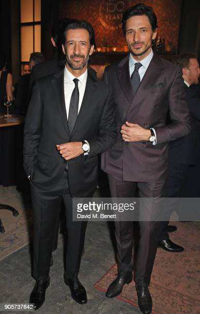 Jose Maria Yazpik and Andres Velencoso attend the IWC Schaffhausen Gala celebrating the Maison's 150th anniversary and the launch of its Jubilee...