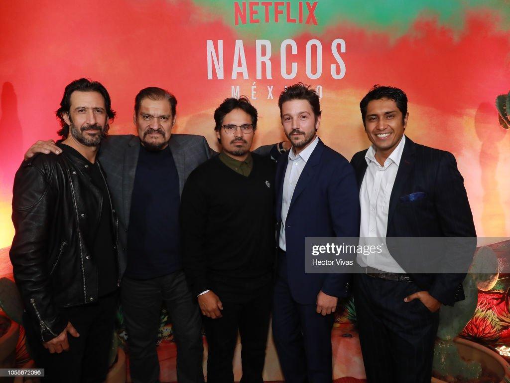 NetflixNarcos CocktailParty : News Photo
