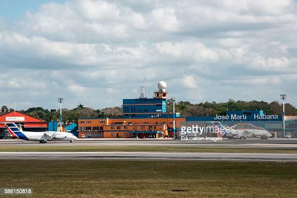 Jose Marti airport, Havana, Cuba.