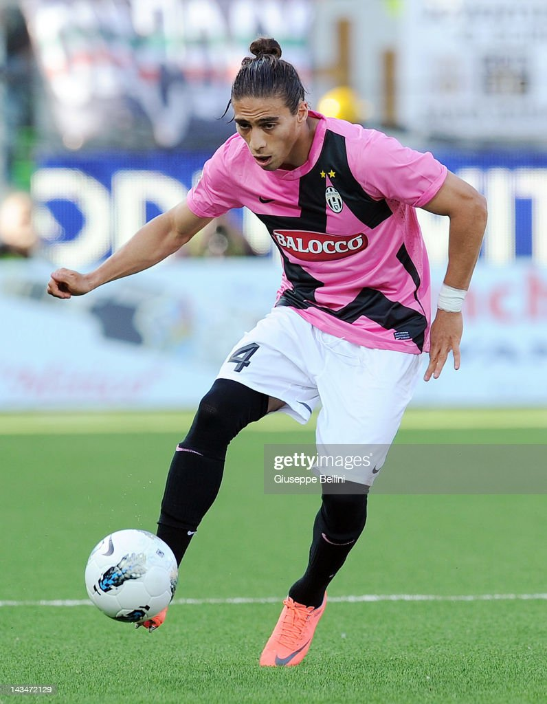 Jose Martin Caceres of Juventus in action during the Serie ...