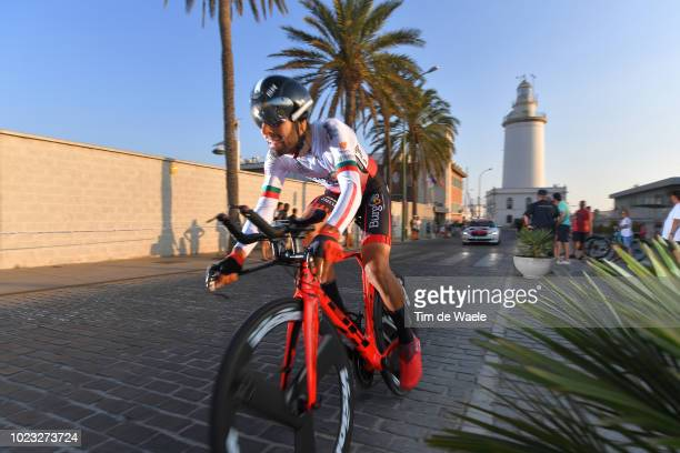 Jose Mendes of Portugal and Team Burgos BH / Lighthouse / during the 73rd Tour of Spain 2018 Stage 1 a 8km Individual Time Trial from Malaga to...