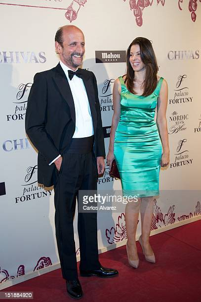 Jose Miguel Fernandez Sastron and Susana Aunion attend 'Fortuny' 15th anniversary party on September 12 2012 in Madrid Spain
