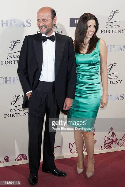 Jose Miguel Fernandez Sastron and wife Susana Aunion attend 'Fortuny' 15th Anniversary party on September 12 2012 in Madrid Spain