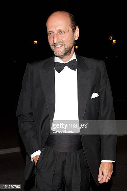 Jose Miguel Fernandez Sastron attends the 'Cartier Exhibition' Gala presentation at the Museum Thyssen Bornemisza on October 22 2012 in Madrid Spain